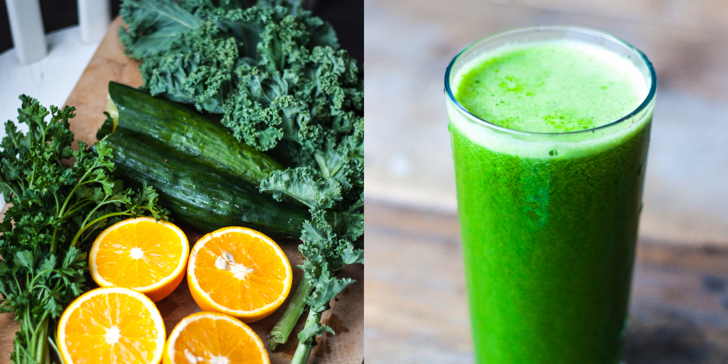 Juicy // Kale + Cucumber + Parsley + Oranges RosalieRuardy.com // FOOD, TRAvEL & HEALTH BLOG