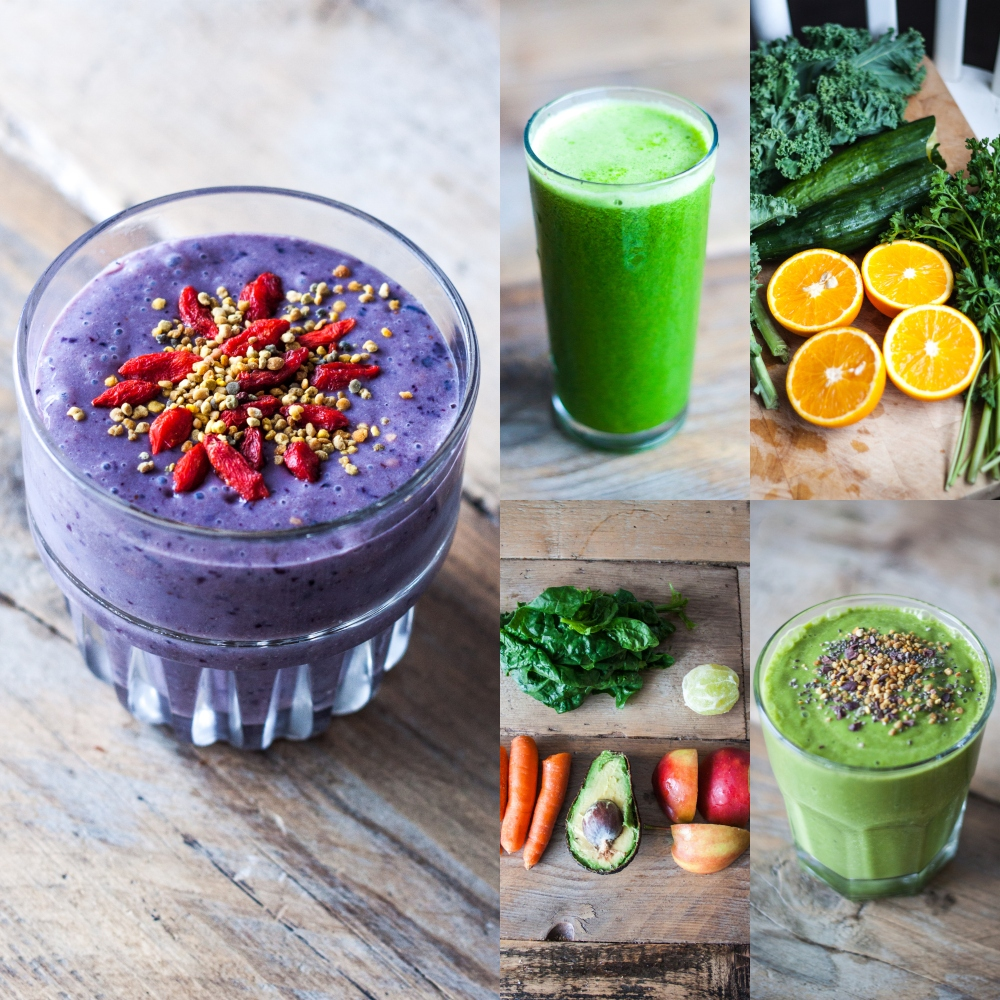 Juices & Smoothies // Free Superfoods E-book