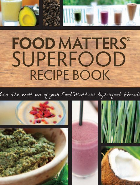 Free Superfood Recipe Book