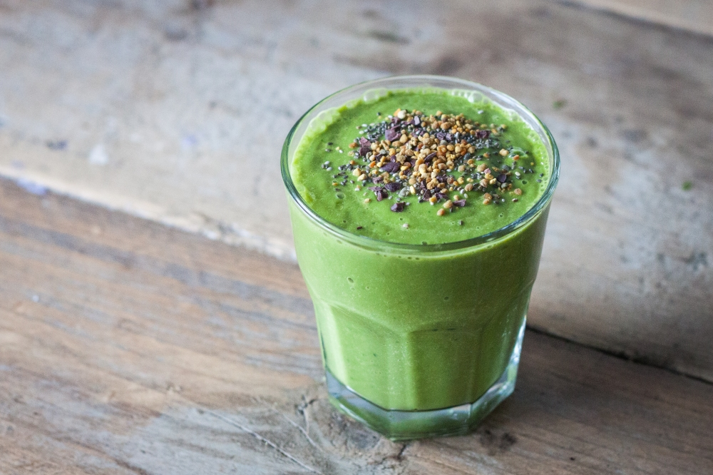 Spinach Avocado Juice