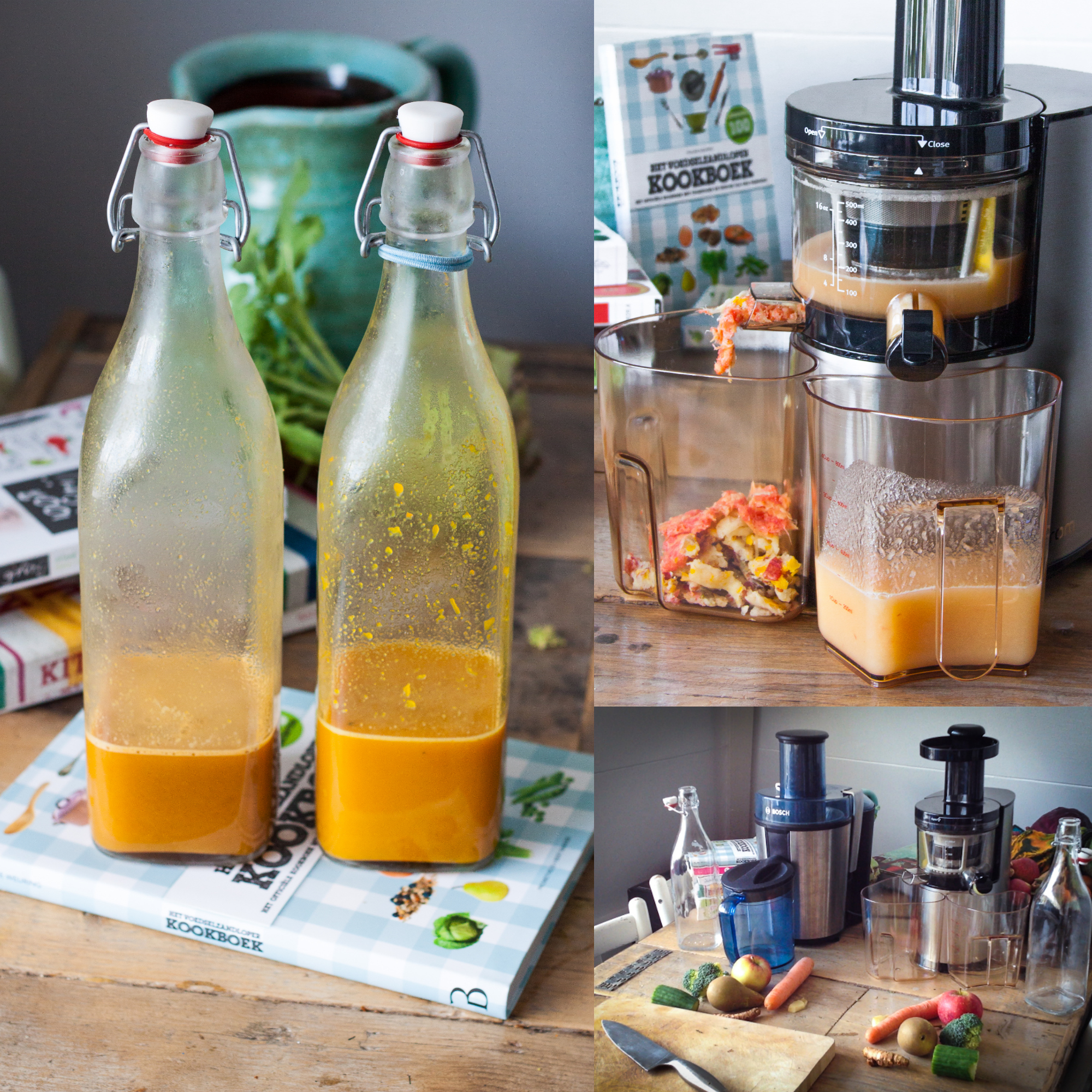 Hurom Slow Juicer Recipe : Review // Slow Juicer ft. Sapcentrifuge - Moderne Hippies
