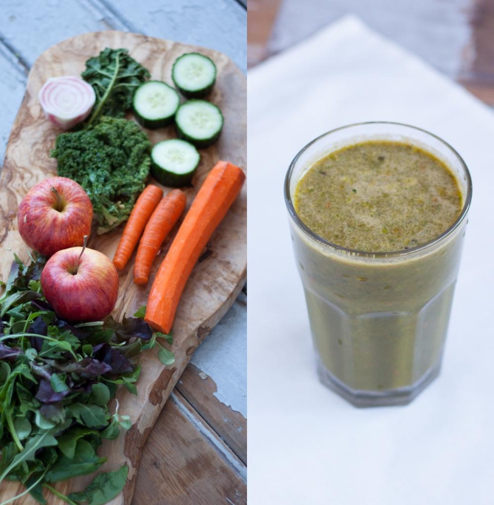 Detox Juice by Rosalie Ruardy // r o s  a l  i e r u a r d y . c o m #juicing #healthy #recipe #detox