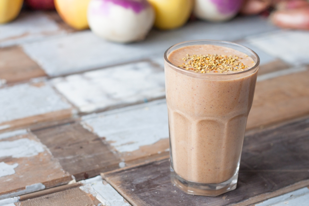 Banana Pumpkin Spice Detox Smoothie