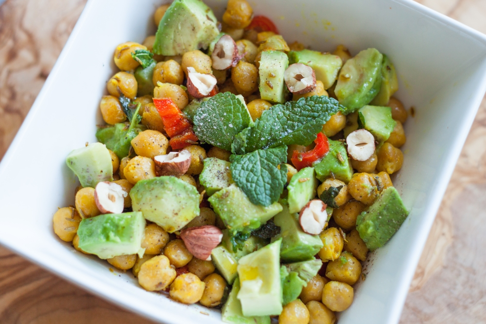 Healthy on a budget: Spicy Chickpea Salad