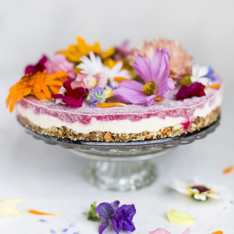 Sweet Healthy A Superfood Wedding Cake ROSALIERUARDYCOM - Healthy Wedding Cakes