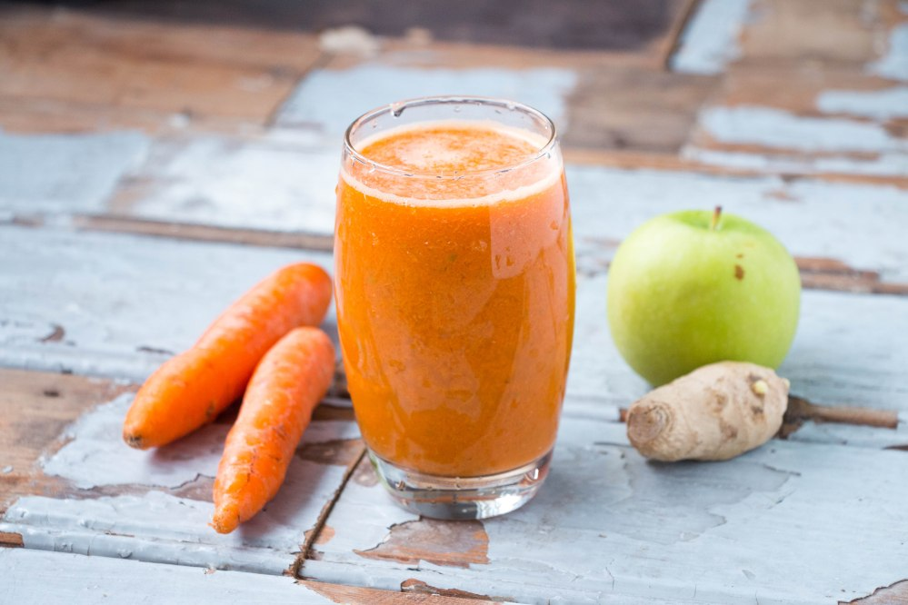Ginger Apple Carrot Juice