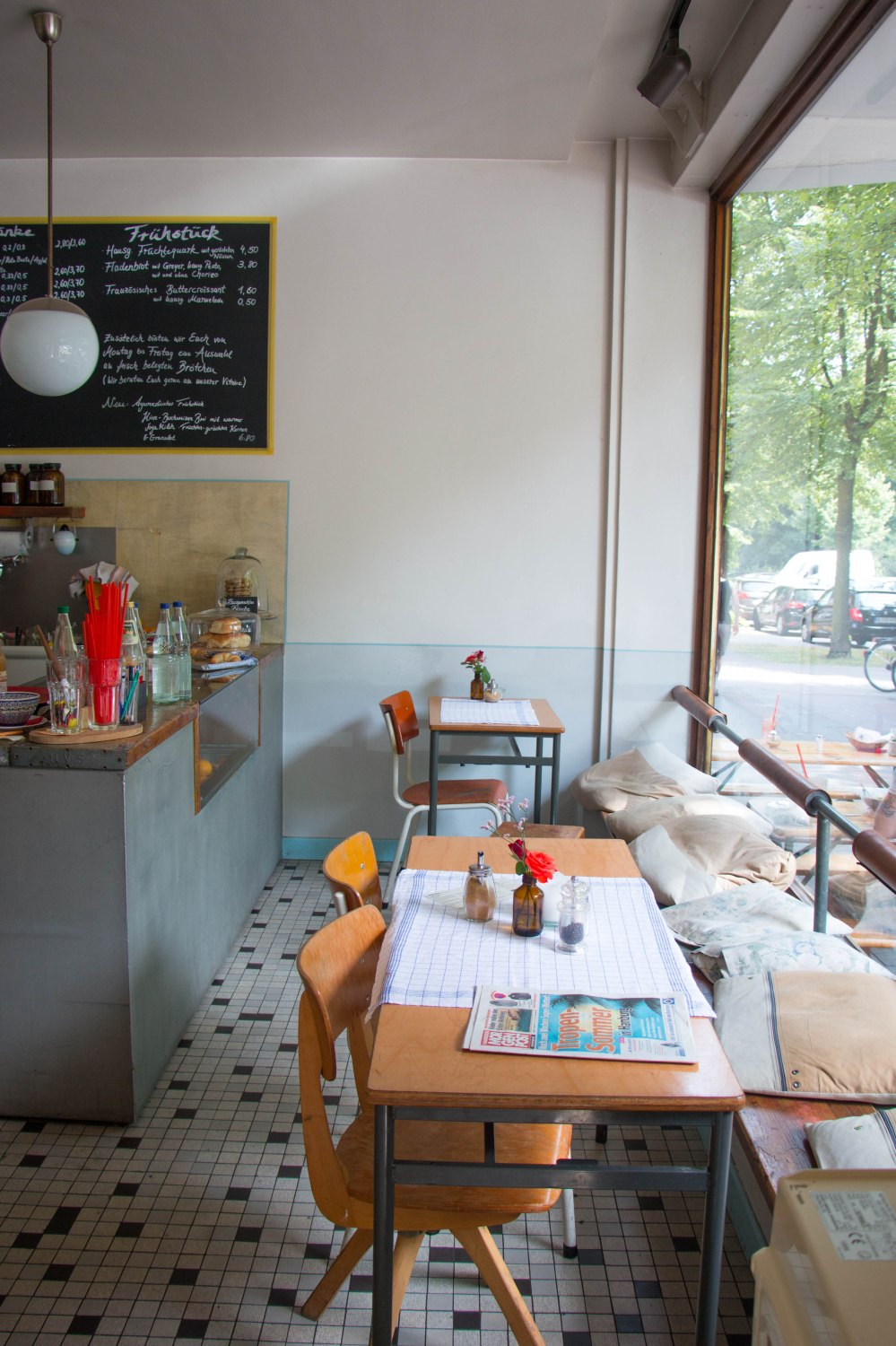 Cafe Johanna, Hamburg // The Healthy Foodie Guide to Hamburg by Rosalie Ruardy