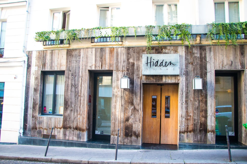 Hidden Hotel Paris