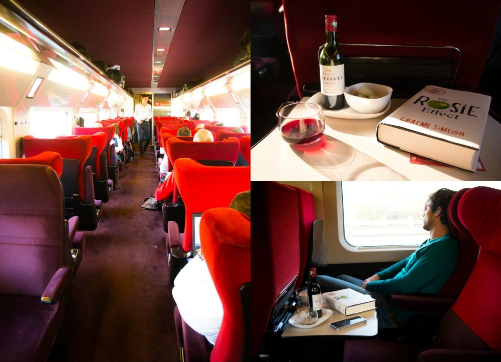 Thalys First Class // Rosalie Ruardy - Travelblog