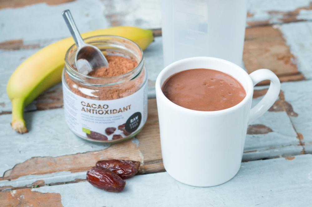 Banana Avocado Cacao Smoothie