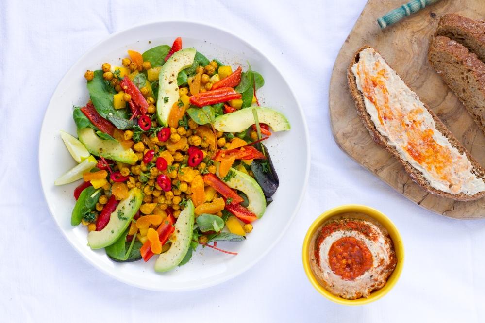 Chickpea Salad // Rosalie Ruardy